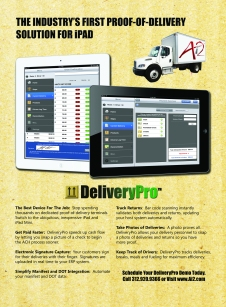 DeliveryPro Proof Of Delivery POD App for iPad
